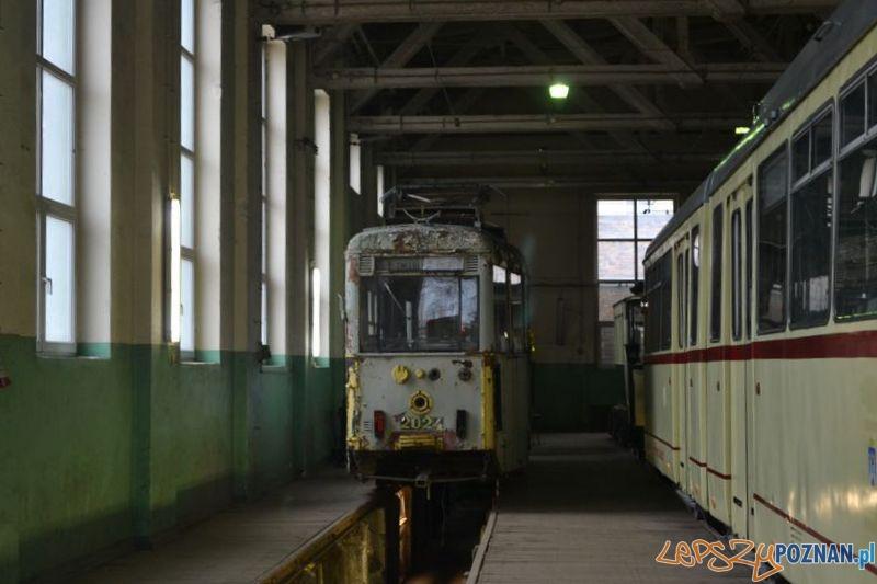 Historyczna bimba czeka na remont na Madalinie  Foto: Maciej Witkowski / KMPS