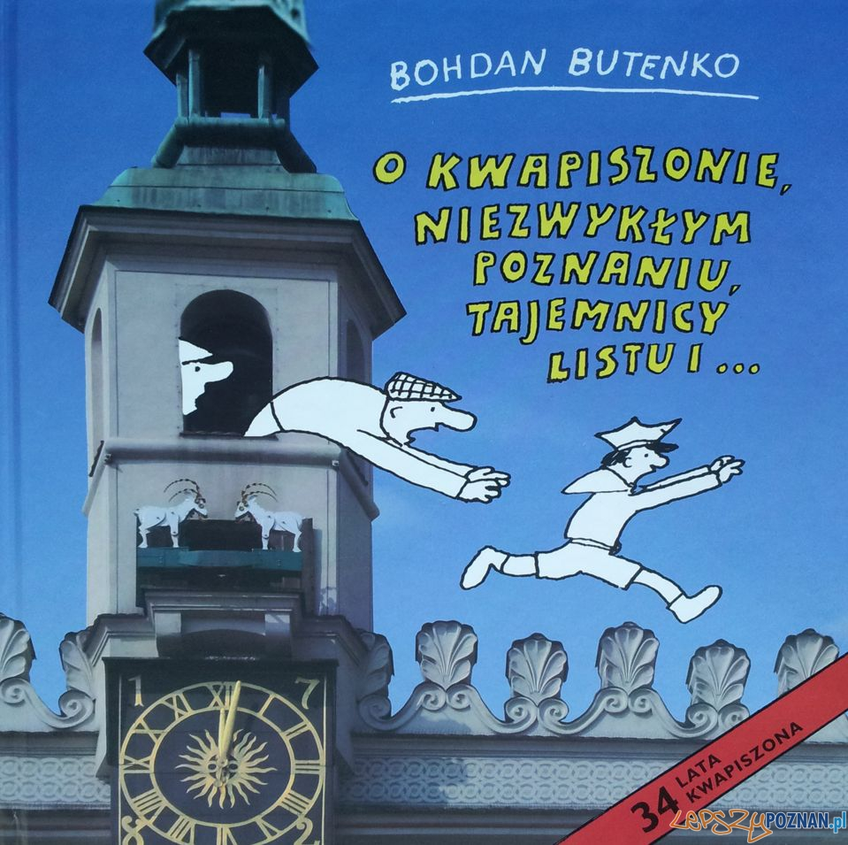 Bohdan Butenko - Przygody Kwapiszona w Poznaniu  Foto: Wydawnictwo Miejskie Posnania