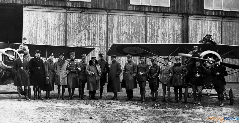 Misja wojskowa na Ławicy Muzeum Powstania Wielkopolskiego  Foto: Muzeum Powstanie Wielkopolskiego
