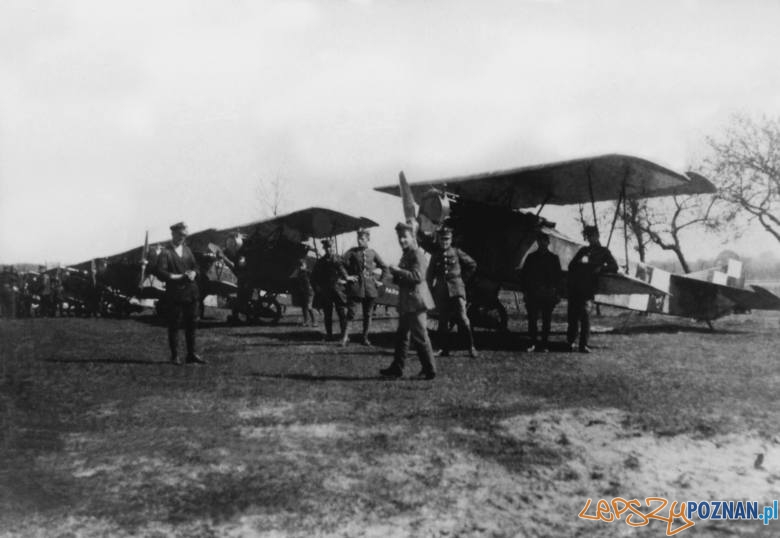 Samoloty na Ławicy -Muzeum Powstanie Wielkopolskiego  Foto:  Archiwum Muzeum Powstania Wielkopolskiego