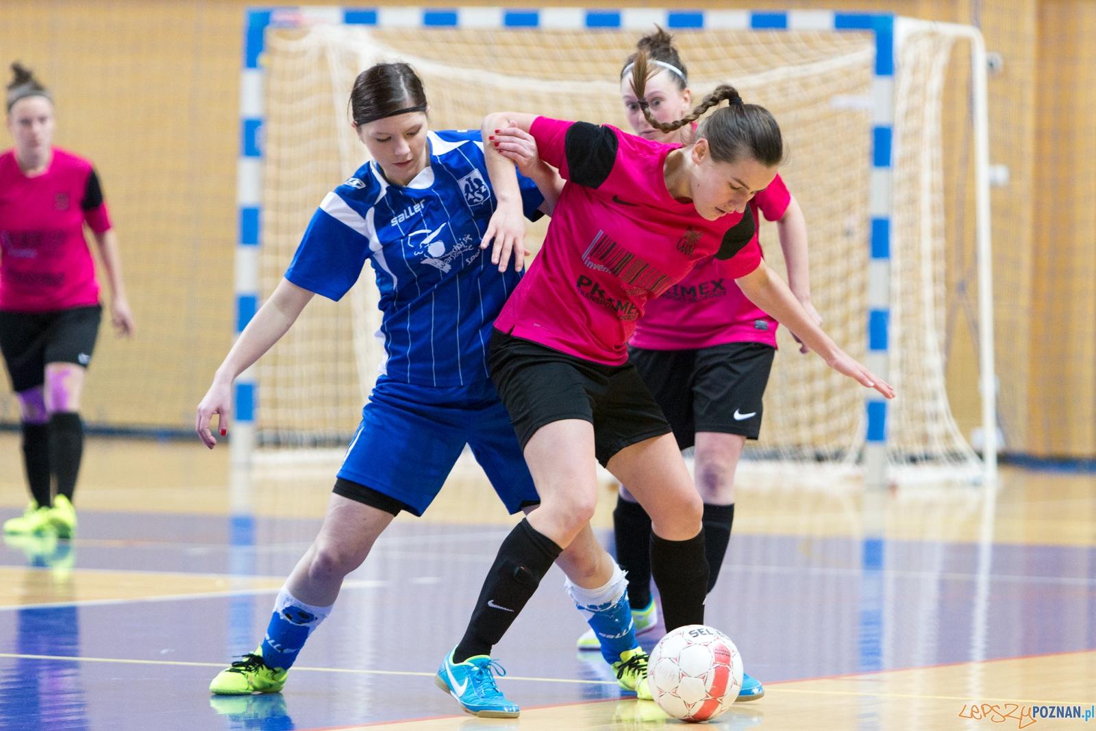 Futsal: AZS UAM Poznań – AZS Uniwersytet Warszawski  Foto: lepszyPOZNAN.pl / Piotr Rychter