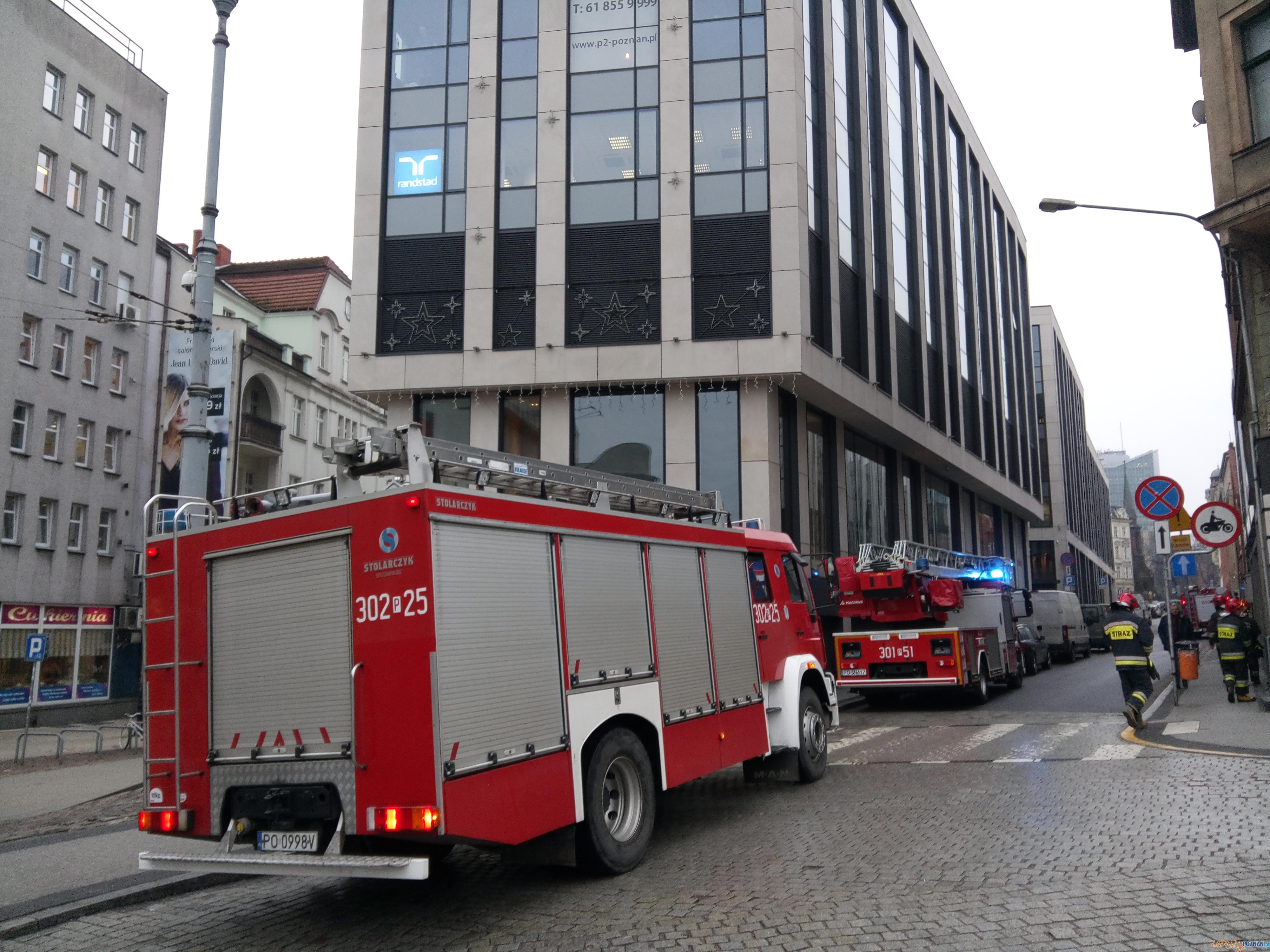 Strażacy gotowi do akcji  Foto: lepszyPOZNAN / gsm