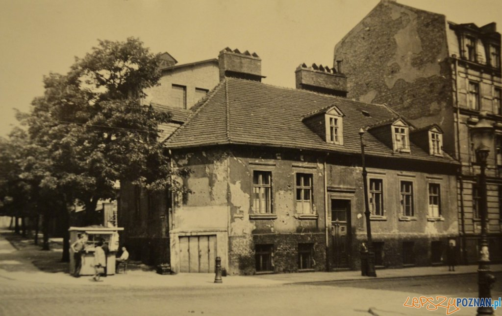 Pólwiejska - Kosciuszki - rok 1948  Foto: Miejski Konserwator Zabytkó