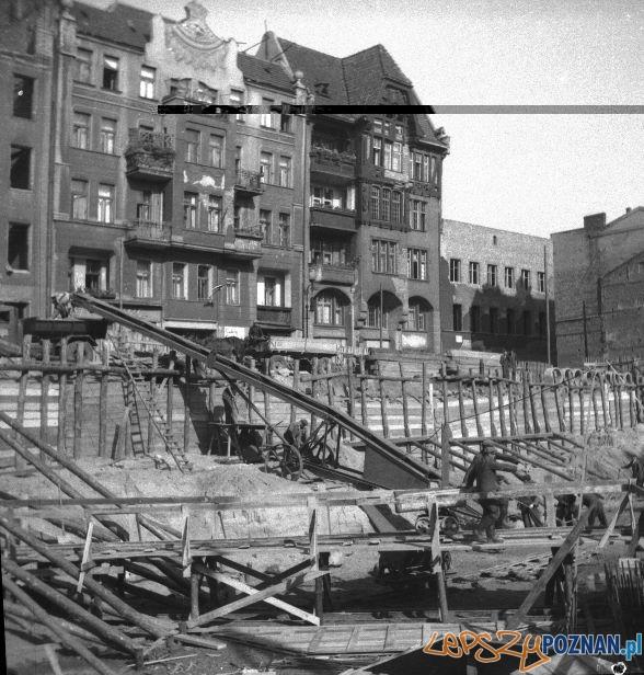 Mielzynskiego budowa Okraglaka  Foto: archiwum Okraglaka