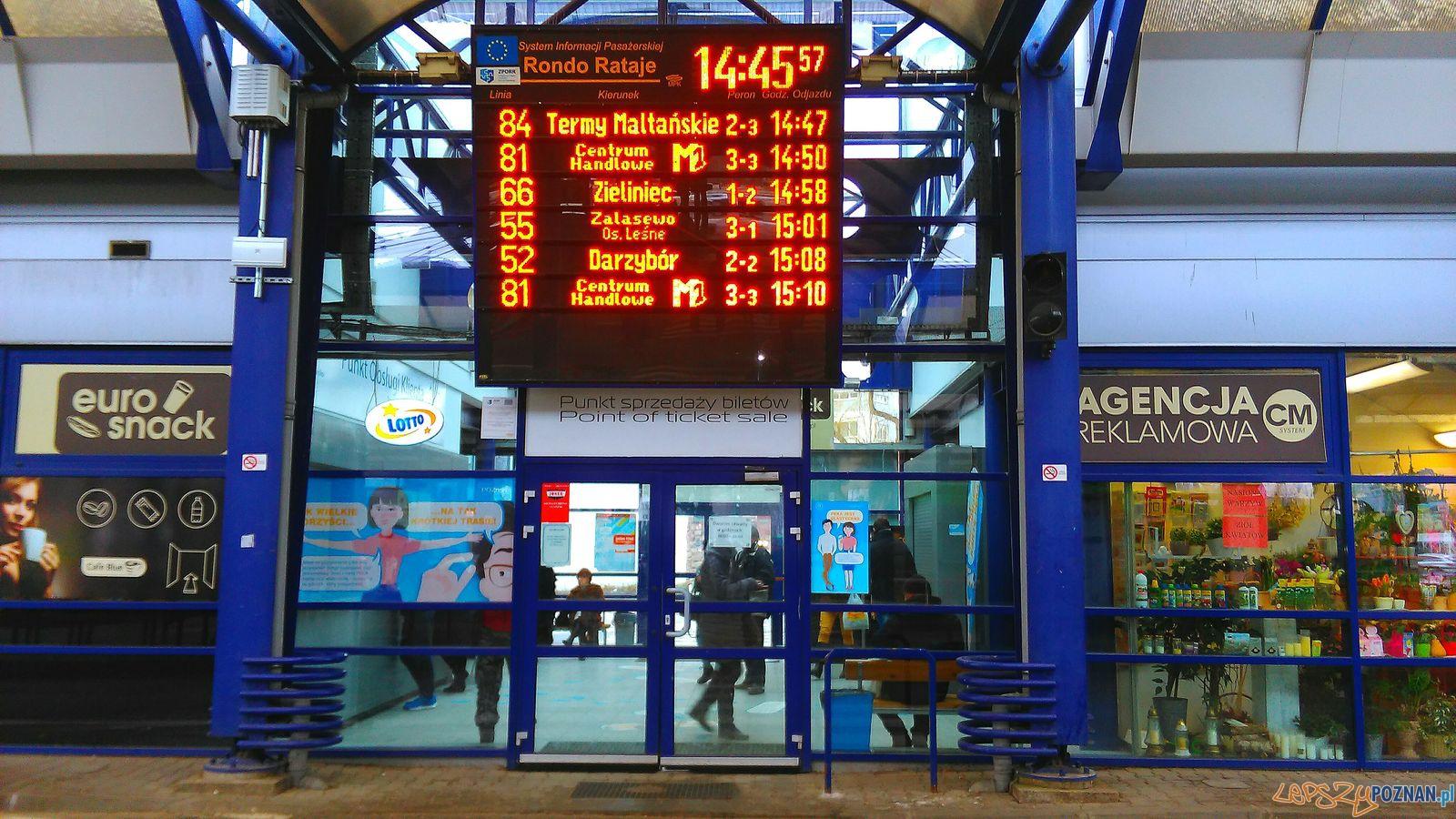 Dworzec Rataje  Foto: Tomasz Dworek