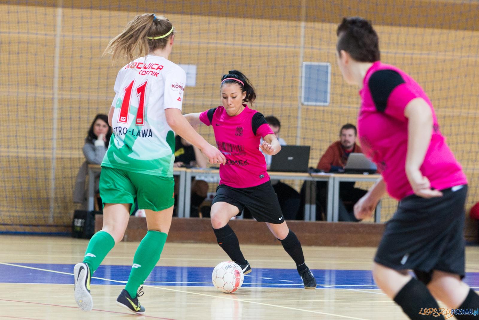 5. kolejka ekstraligi futsalu kobiet: KU AZS UAM Poznań – Kot  Foto: lepszyPOZNAN.pl / Piotr Rychter