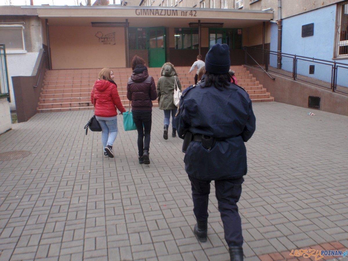 Straż miejska przeciwko wagarowiczom  Foto: Straż miejska Poznań