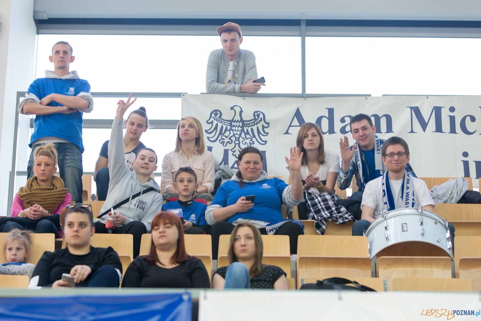Finał Ekstraklasy: AZS UAM Poznań - UJ Kraków  Foto: lepszyPOZNAN.pl / Piotr Rychter