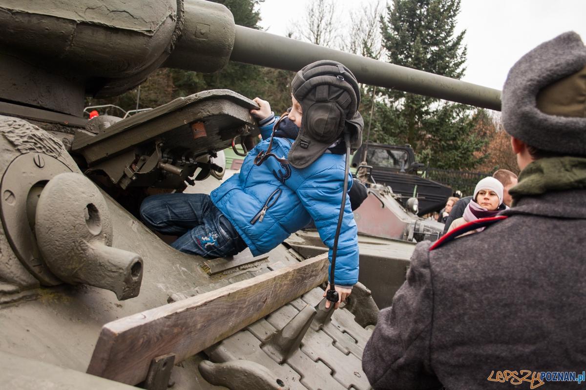 Bitwa o Poznań 2016 - inscenizacja (21.02.2016) Cytadela  Foto: © lepszyPOZNAN.pl / Karolina Kiraga