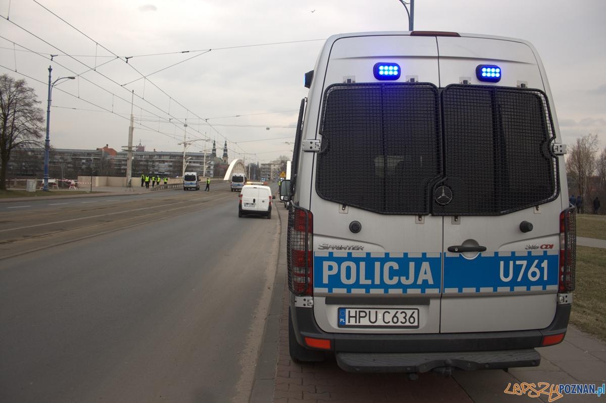 Poszukiwania Ewy Tylman w centrum Poznania / policja  Foto: lepszyPOZNAN.pl / Karolina Kiraga