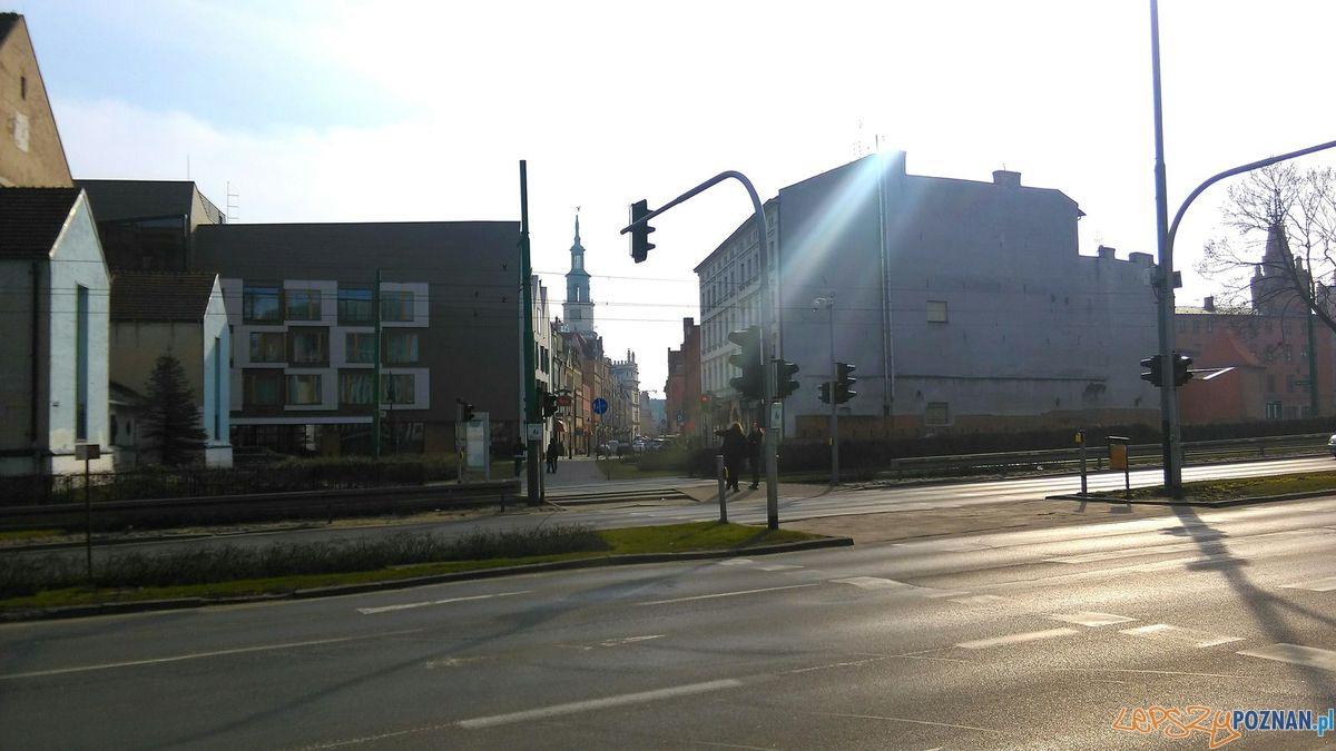 Na Stary Rynek z Wzgorza Sw. Wojciecha  Foto: Tomasz Dworek