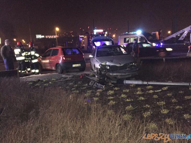 Ranni w wypadku na Starołęce  Foto: EuroHol