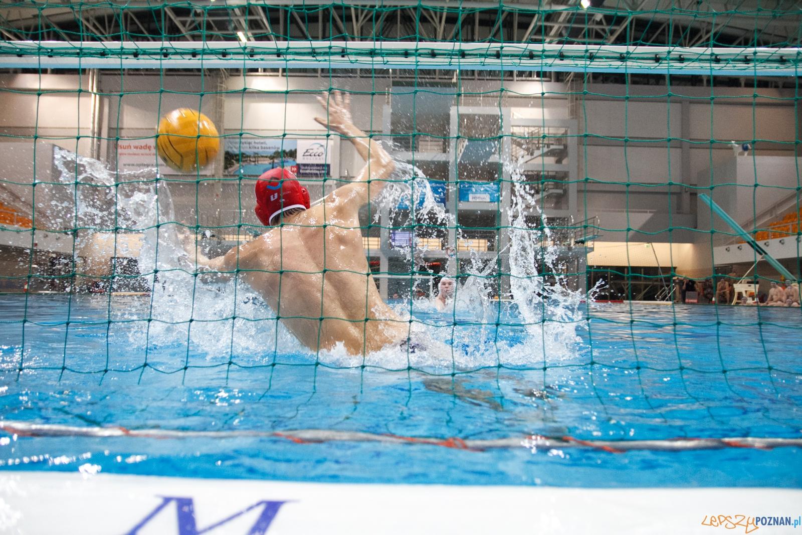 KS Waterpolo Poznań - ŁSTW Uniwersytet Łódzki 9:9 (d 15:16)  Foto: LepszyPOZNAN.pl / Paweł Rychter