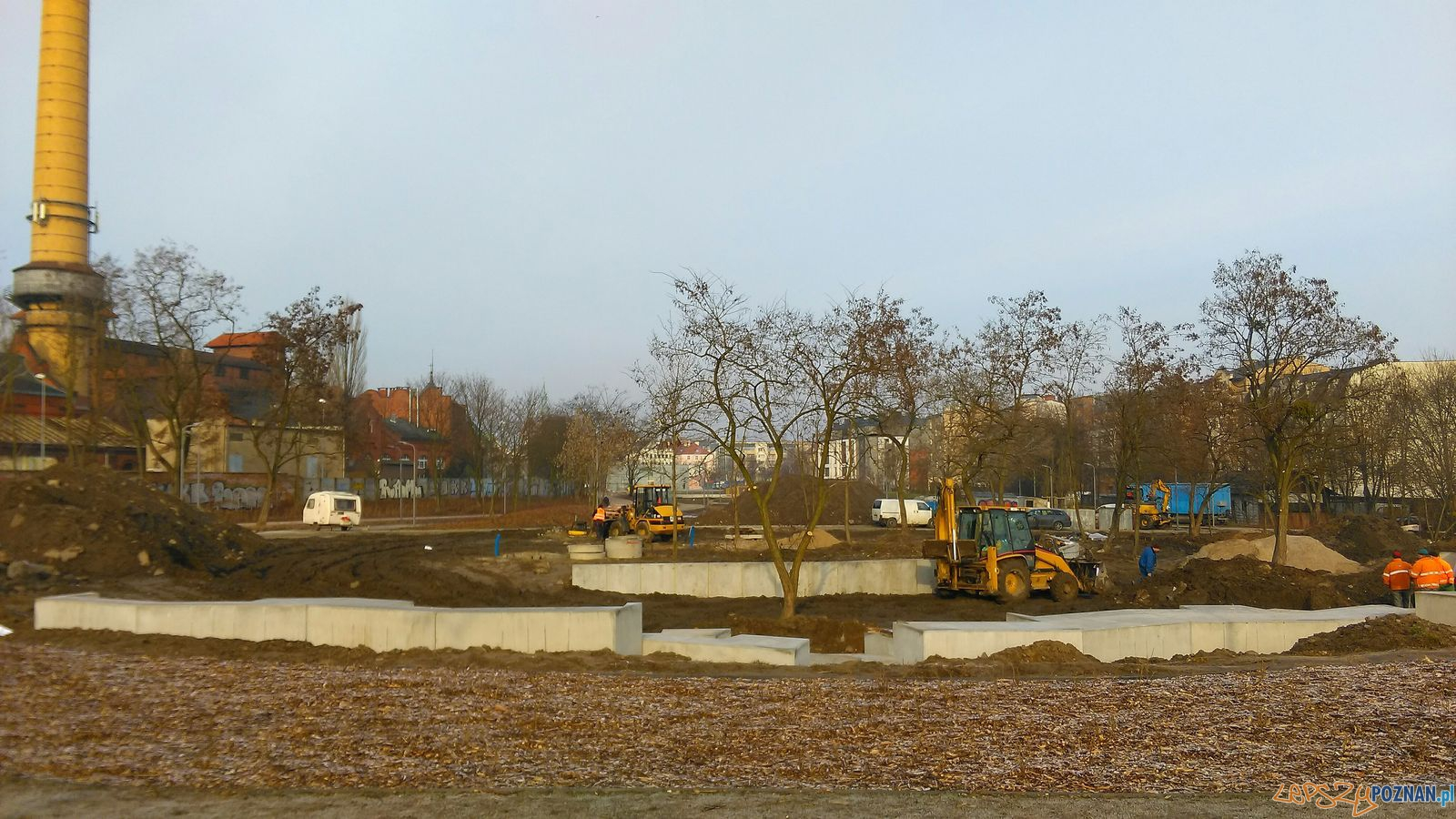 Tu powstaną nowe miejskie toalety - Park w Starym Korycie  Foto: TD
