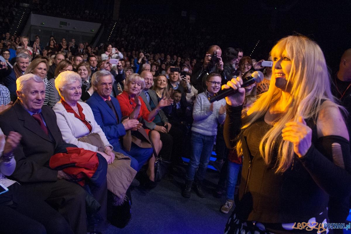 Maryla Rodowicz (8.03.2016) Hala Arena  Foto: © lepszyPOZNAN.pl / Karolina Kiraga