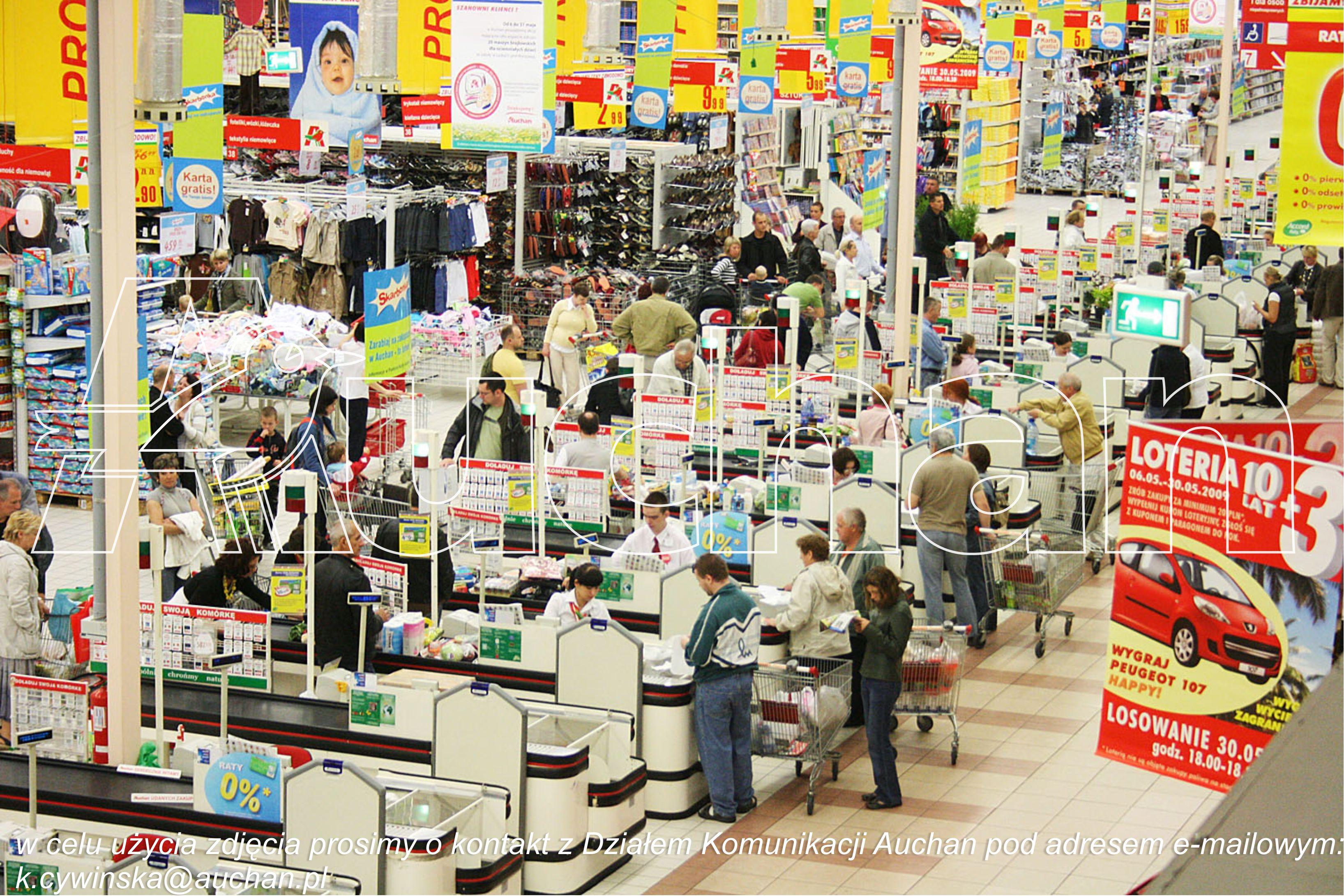 linia kas w Auchan  Foto: Auchan