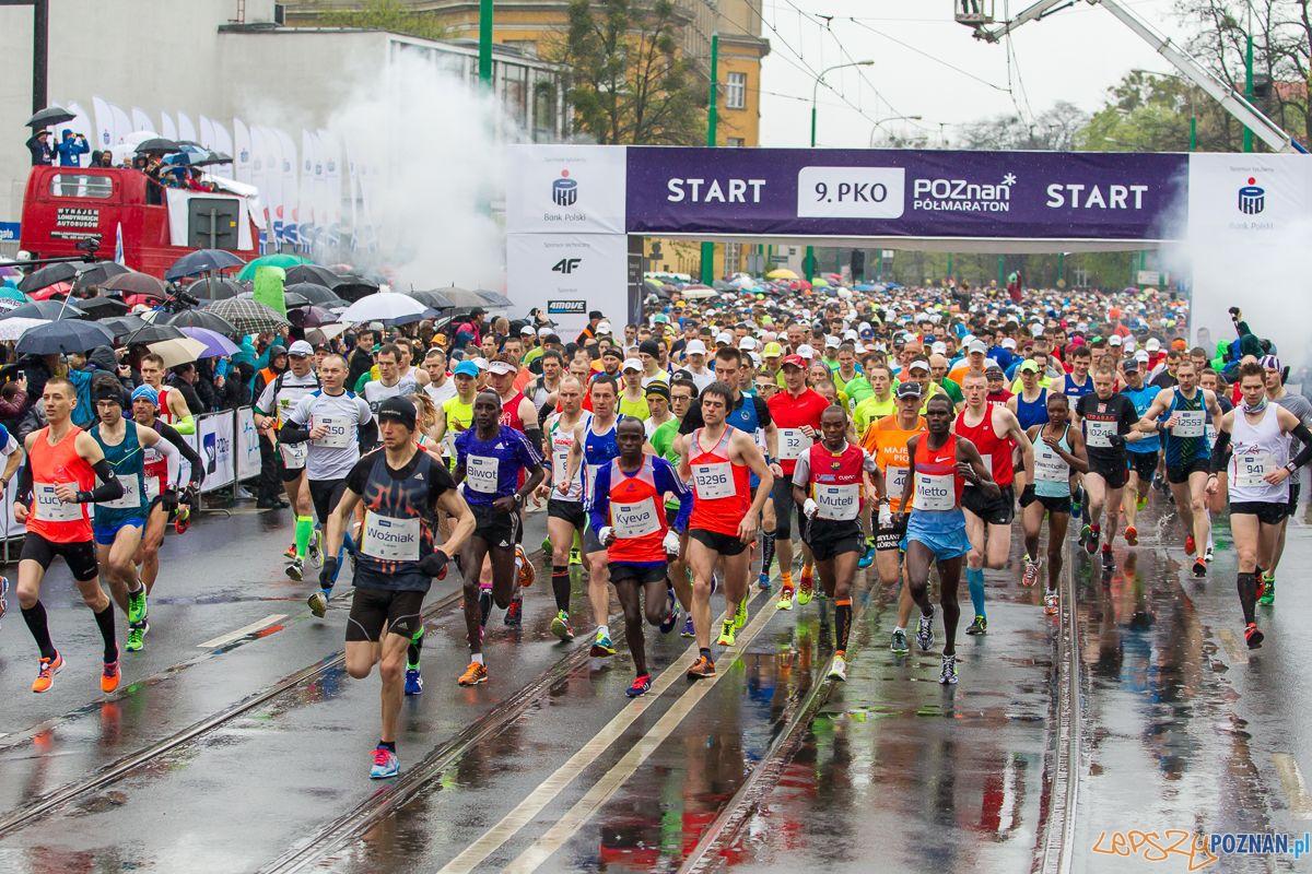 9. Poznański Półmaraton  Foto: Przemysław Szyszka