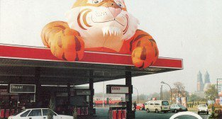 Stacja ESSO 1992-95 Pocztowka promocyjna  Foto: fotopolska