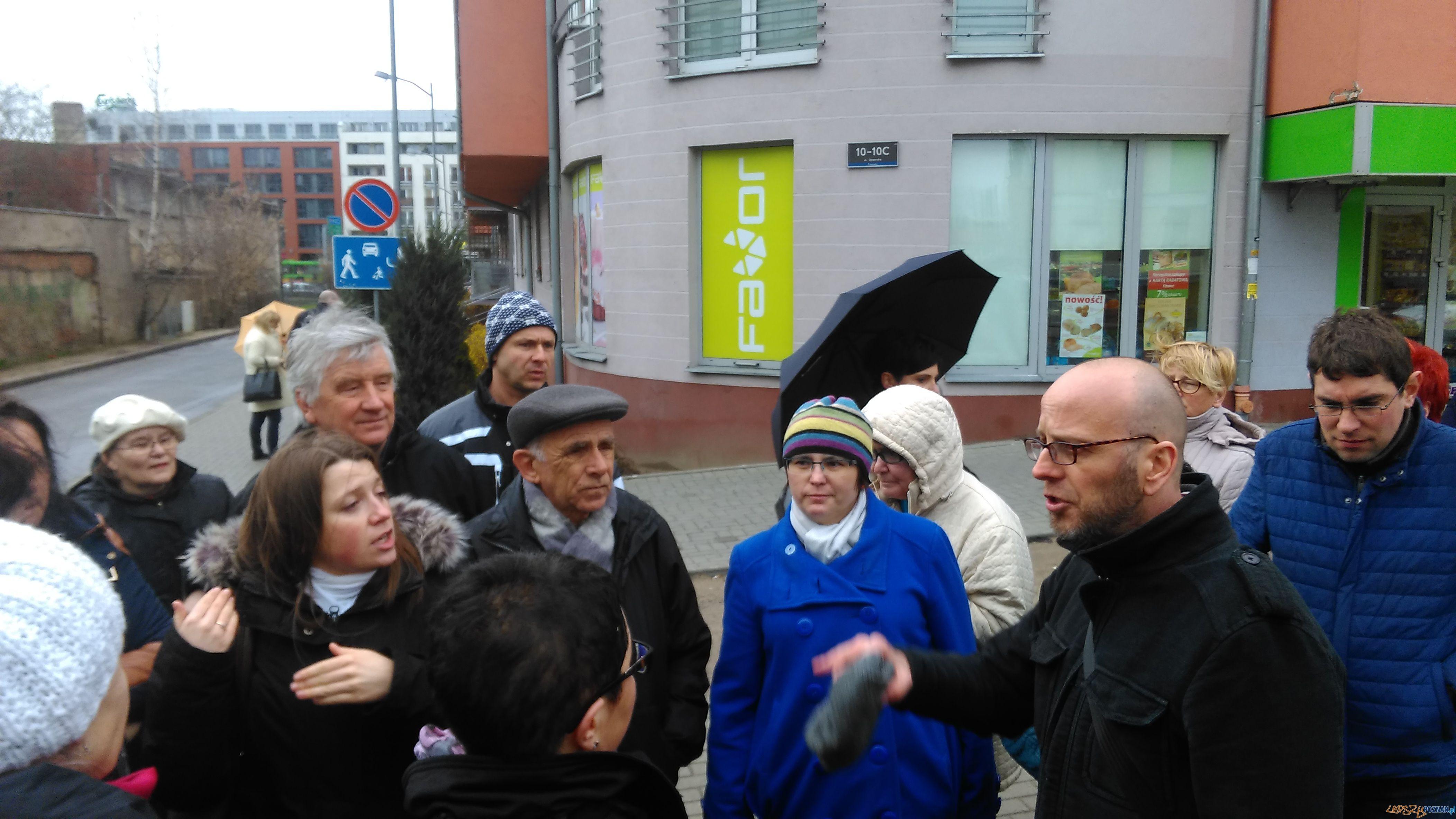 Spotkanie z mieszkancami ulicy Szyperskiej  Foto: Rada Osiedla Stare Miasto