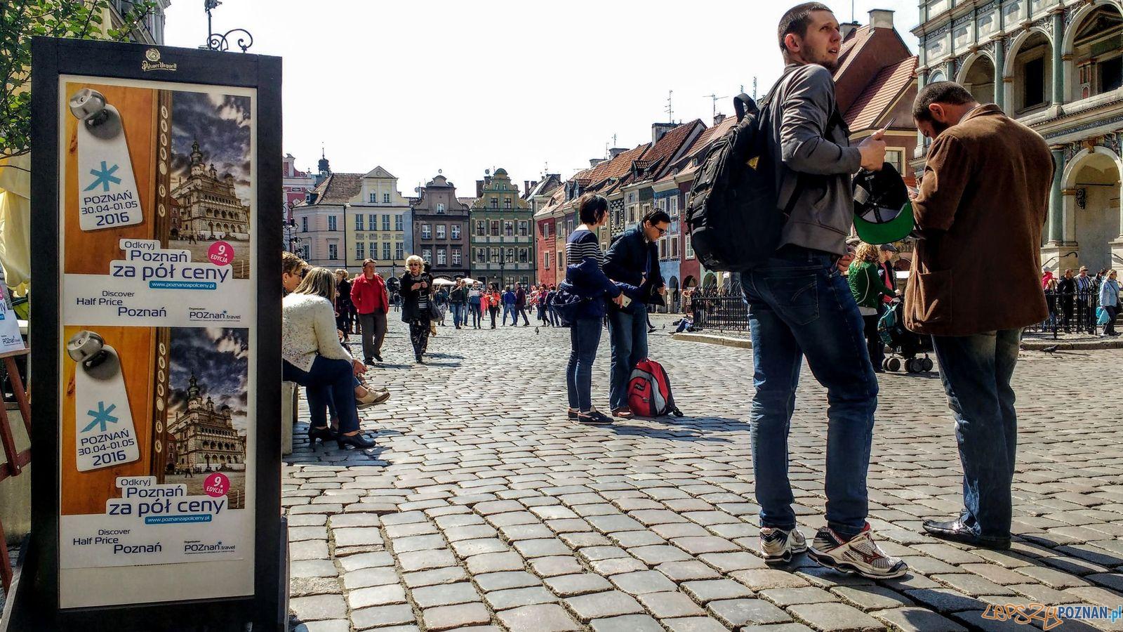 Poznań za pół ceny - atrakcje na Starym Rynku  Foto: Wojciech Mania / PLOT