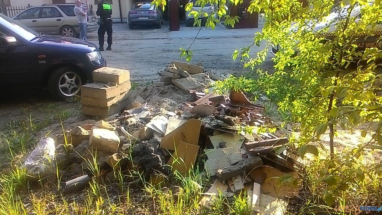 Interwencja Straży Miejskiej na ul. Miłosza  Foto: Straż Miejska