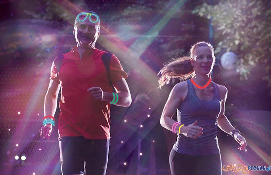 Nocne bieganie z Furą Świetlików  Foto: UEP