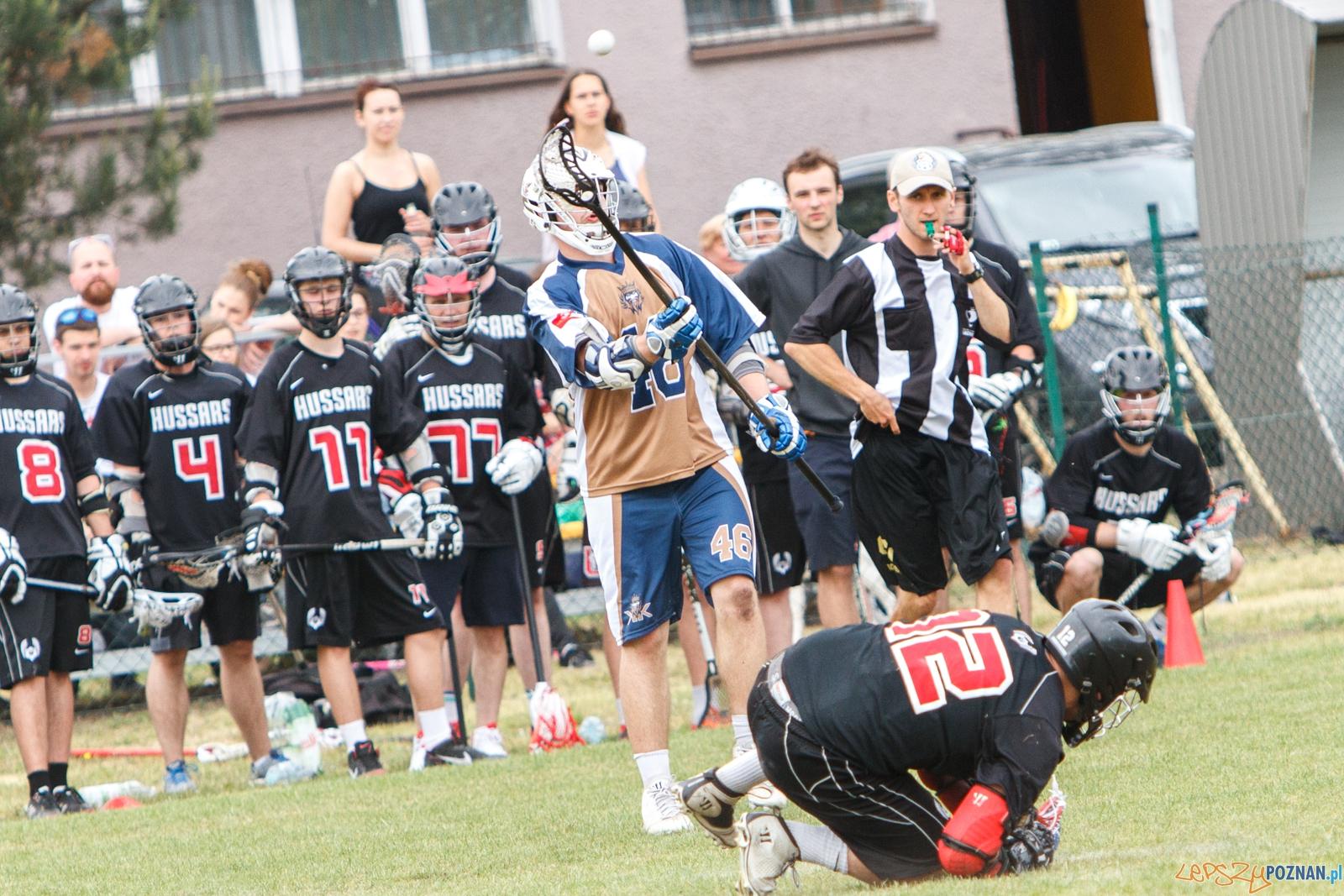 Poznań Hussars - Kraków Kings - mecz lacrosse - Poznań 29.05.  Foto: