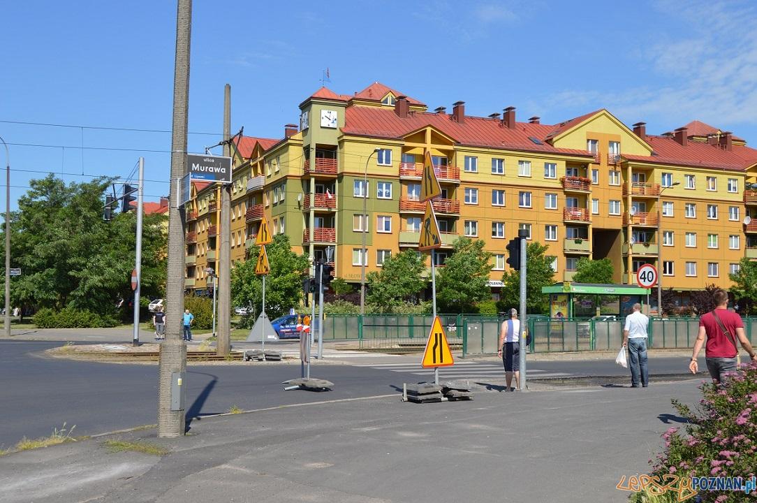 Remonty ulic - Murawa  Foto: Miejski Inżynier Ruchu