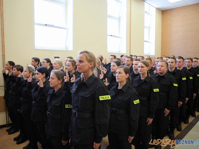 Wielkopolska Policja bardziej liczna  Foto: KWP w Poznaniu