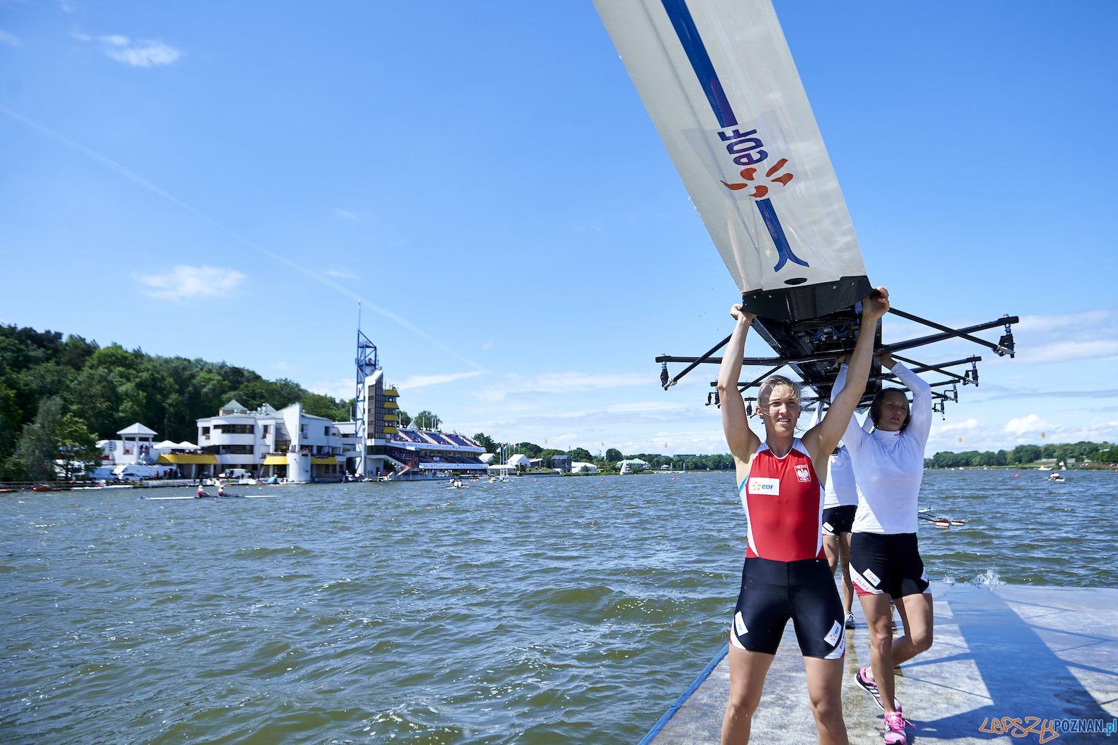 2015 European Rowing Championships  Foto: © Adam Nurkiewicz / Mediasport / materiały prasowe