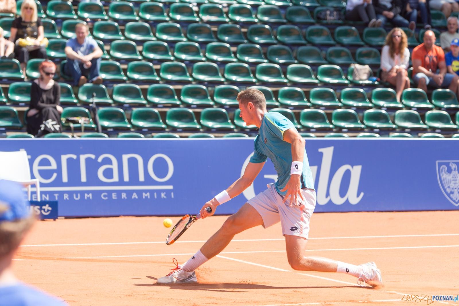 Poznań Open 2016: Maxime Janvier vs Marcin Gawron  Foto: lepszyPOZNAN.pl / Piotr Rychter