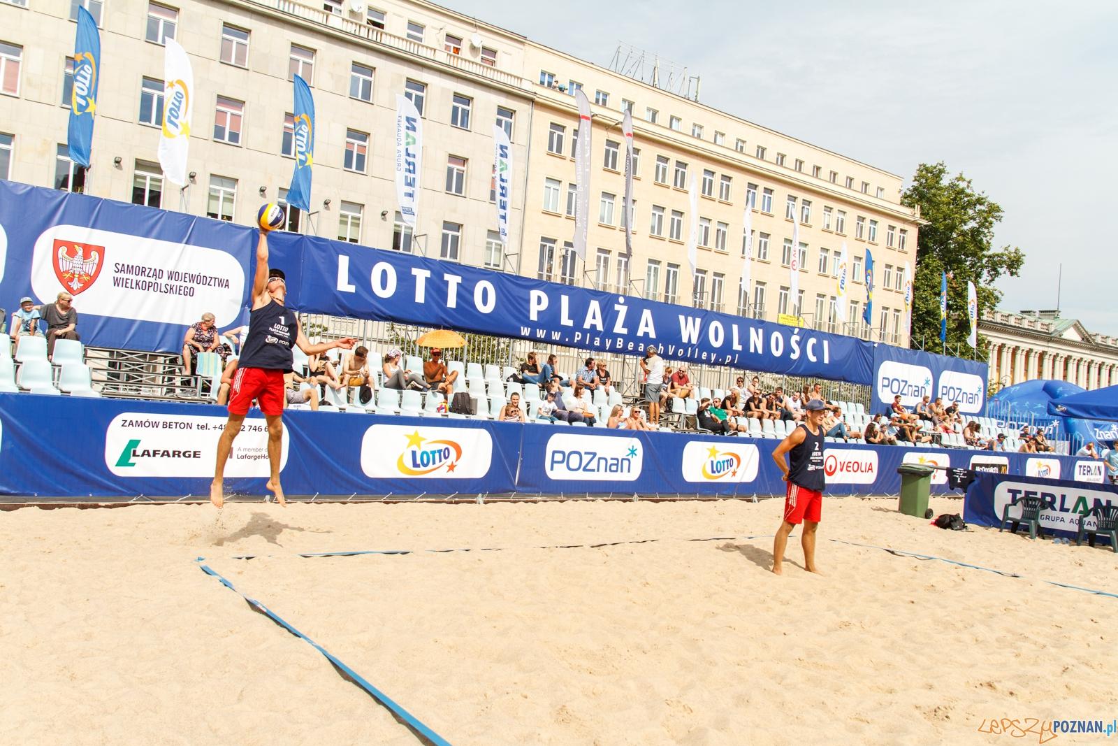 Plaża Wolności - Plac Wolności 20.08.2016 r.  Foto: LepszyPOZNAN.pl / Paweł Rychter