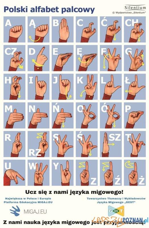 Język migowy Foto: migaj.pl