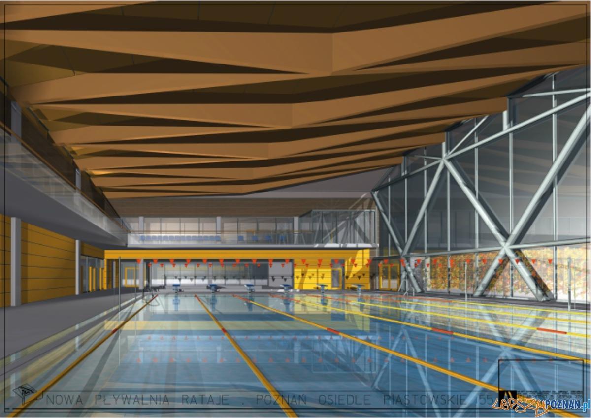 koncepcja remontowanej pływalni na osiedlu Piastowskim  Foto: materiały prasowe