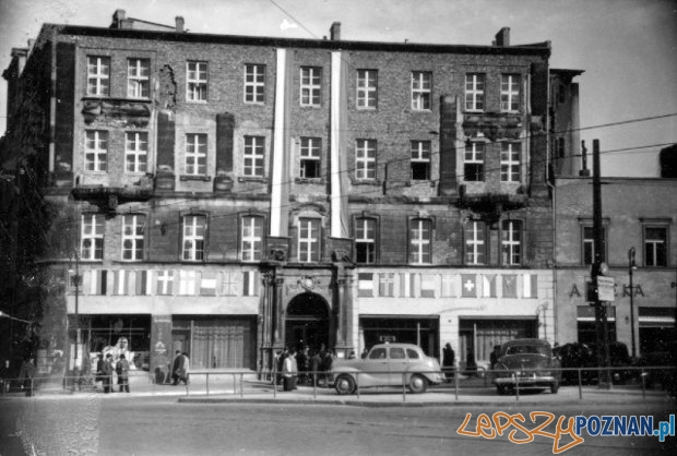 Bazar 1945  Foto: Archiwum MTP