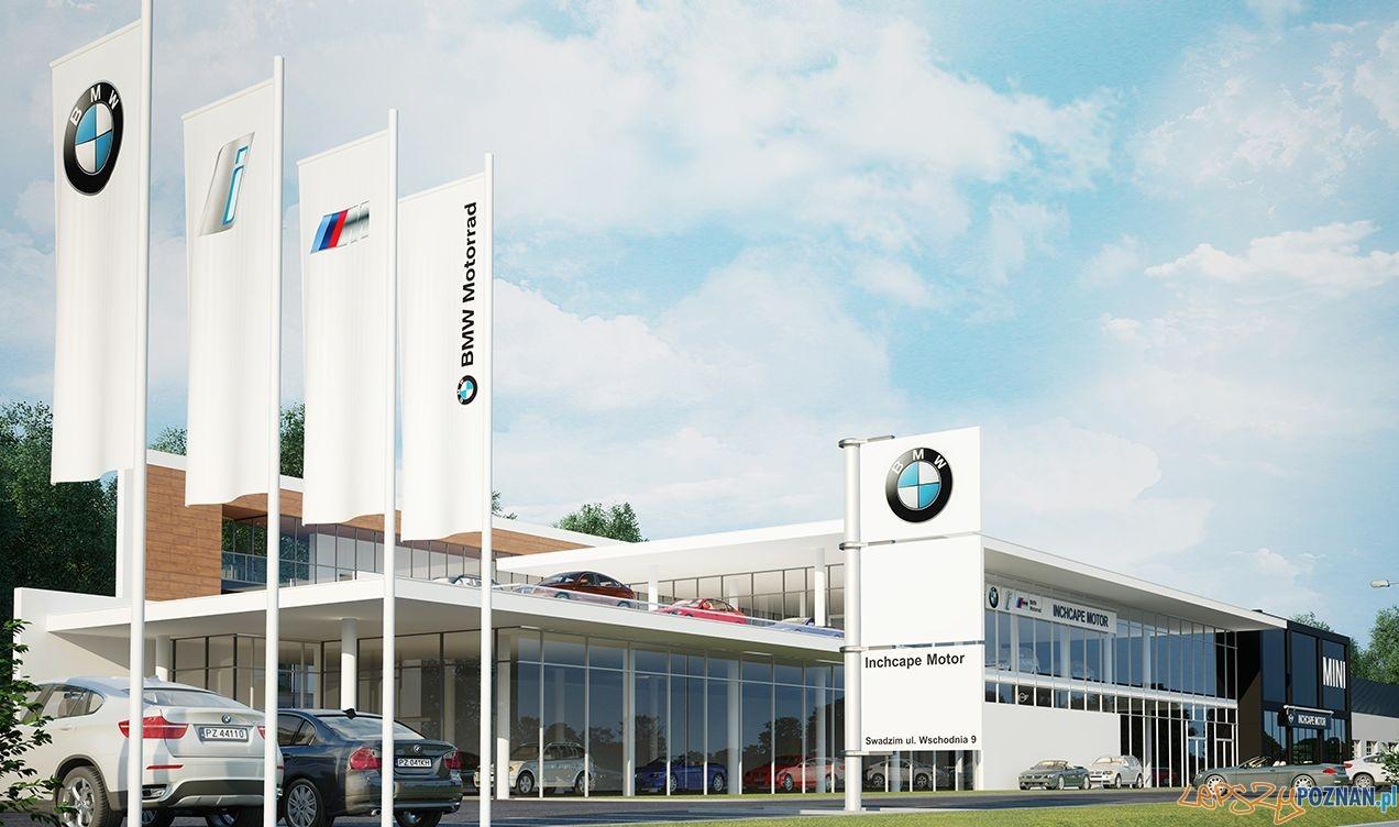 W Swadzimiu powstanie salon BMW  Foto: materiały prasowe