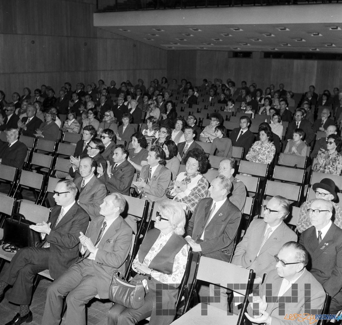 Dzień Znaczka w Pałacu Kultury - 24.10.1974  Foto: Stanisław Wiktor / Cyryl
