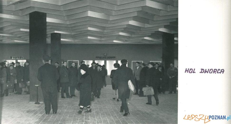 Dworzec PKS - 1965 rok  Foto: Archiwum PKS