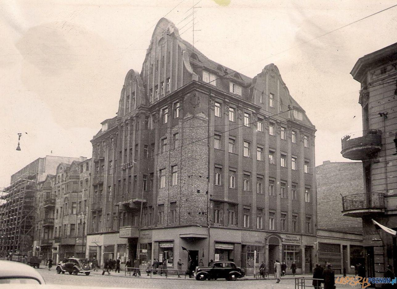 Hotel Lech - lata 50.te XX wieku  Foto: facebook Hotelu Lech