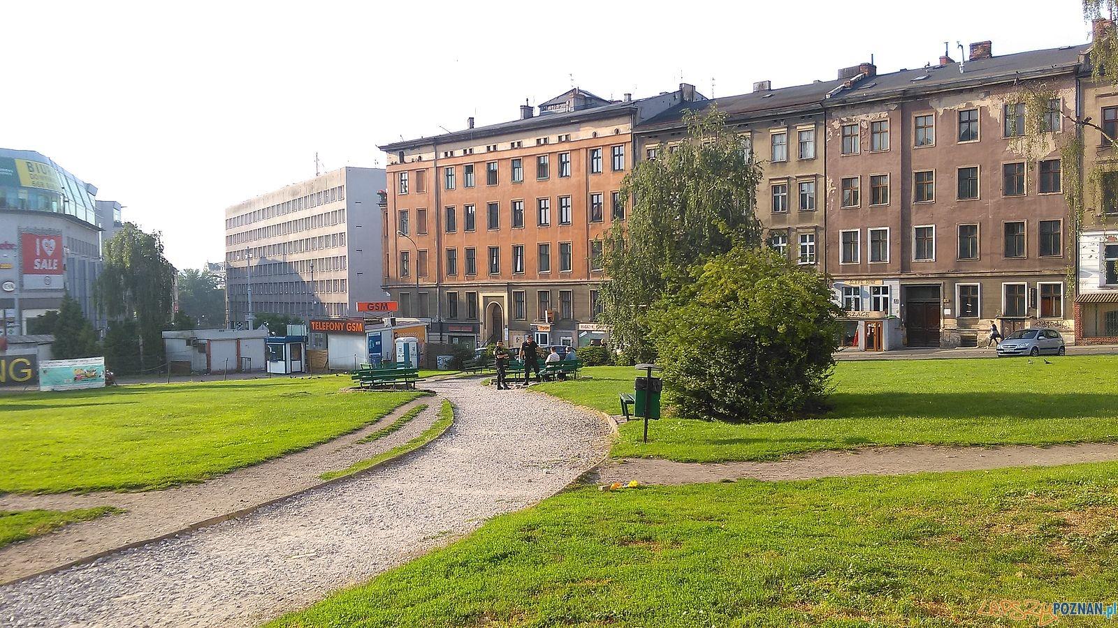 Plac Wiosny Ludów  Foto: TeDe