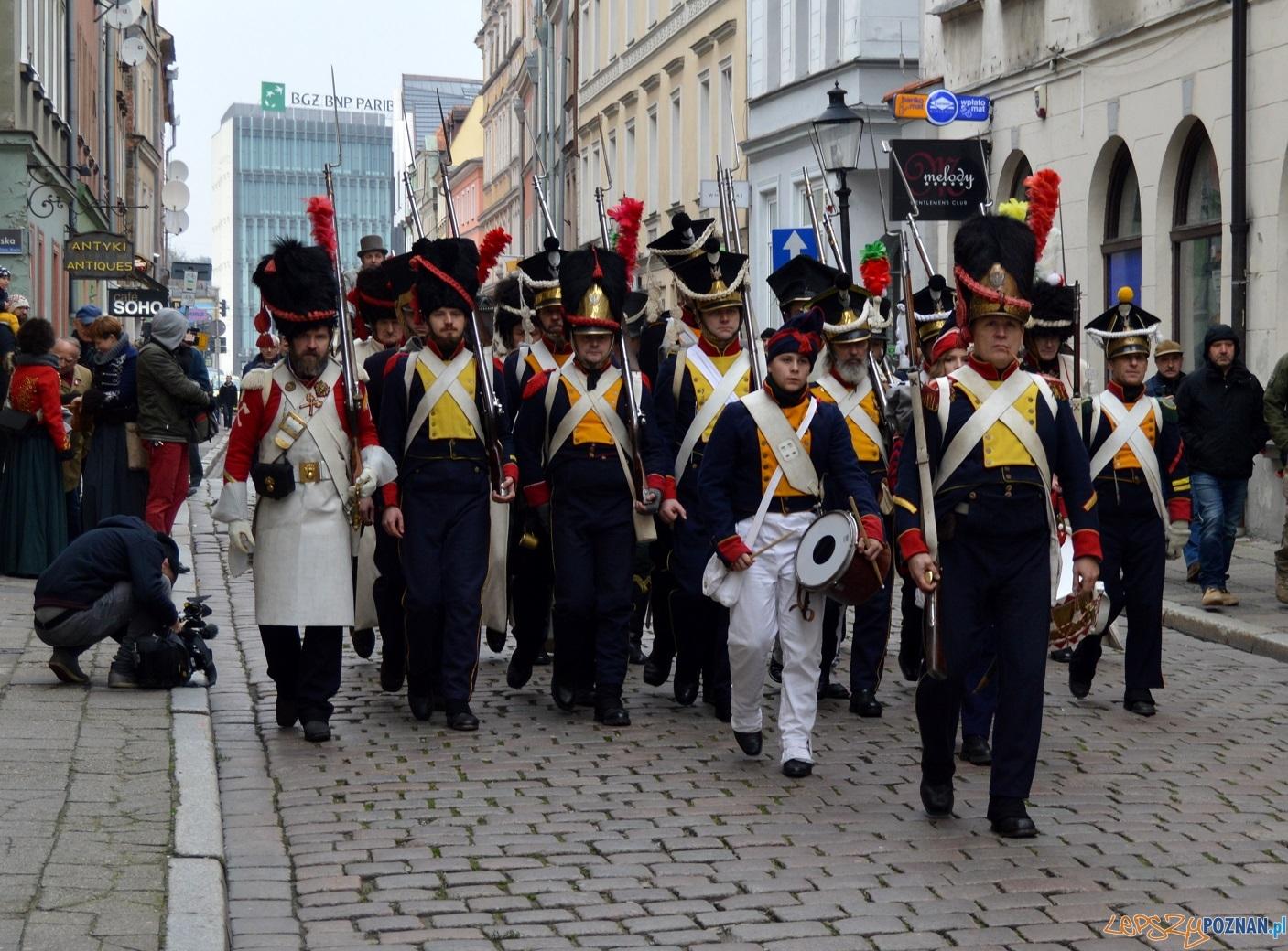 Generał Dąbrowski w Poznaniu  Foto: L. Łada / UMP