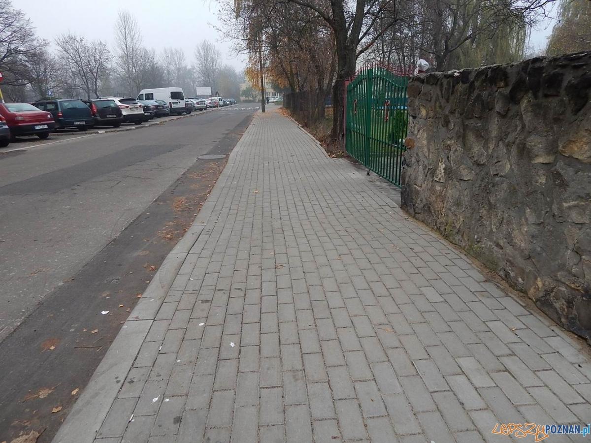 Wyremontowane chodniki na os. Piastowskim  Foto: Rada Osiedla Rataje / Artur Gumny