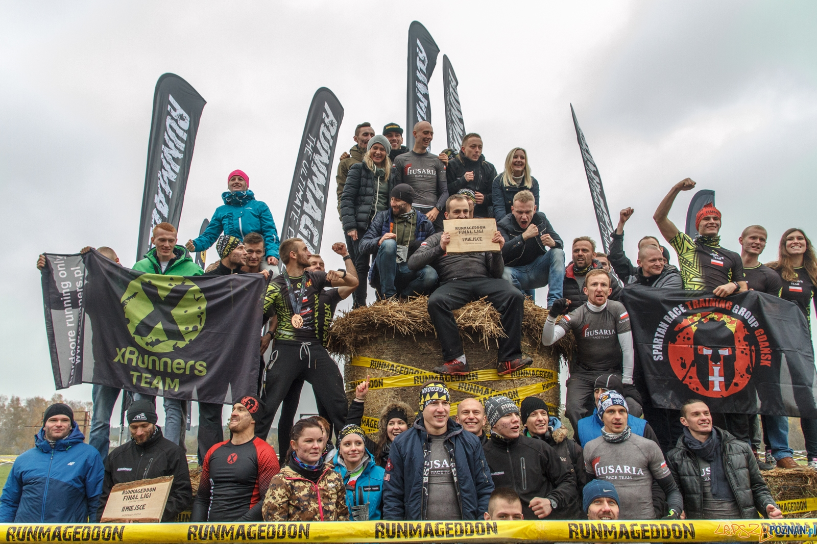 Runmageddon 2016 - Poznań 6.11.2016 r.  Foto: LepszyPOZNAN.pl / Paweł Rychter
