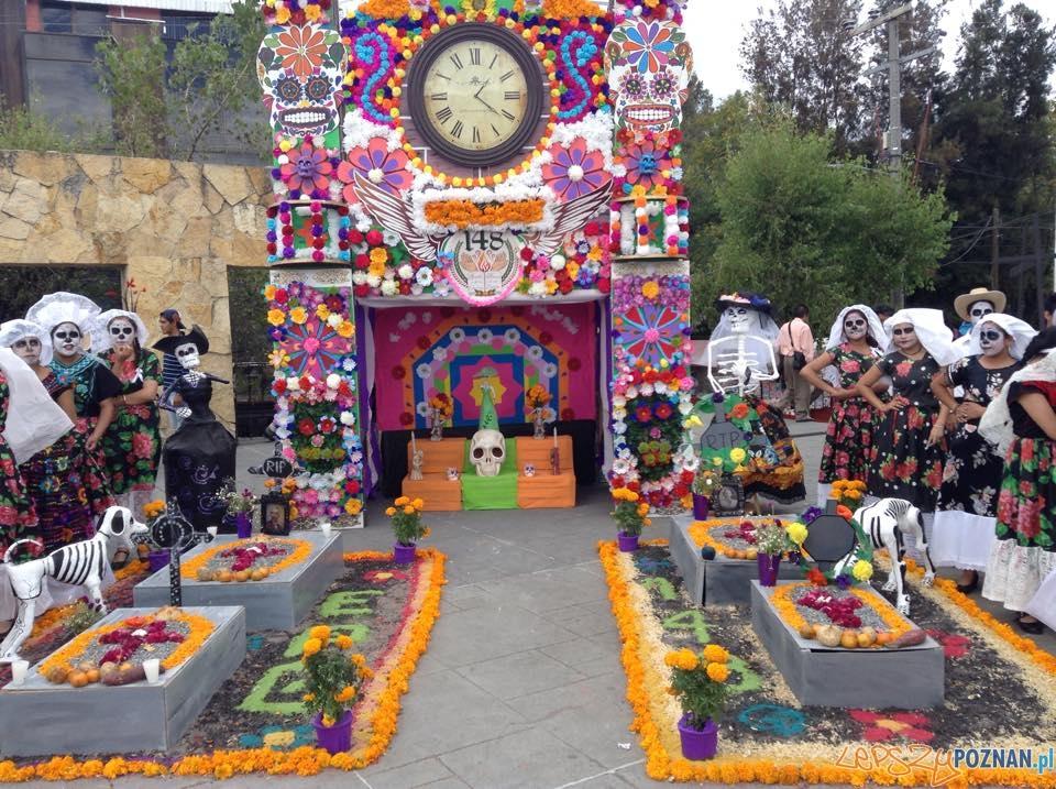Día de muertos w Meksyku  Foto: Forresnr.ed  / wikipedia