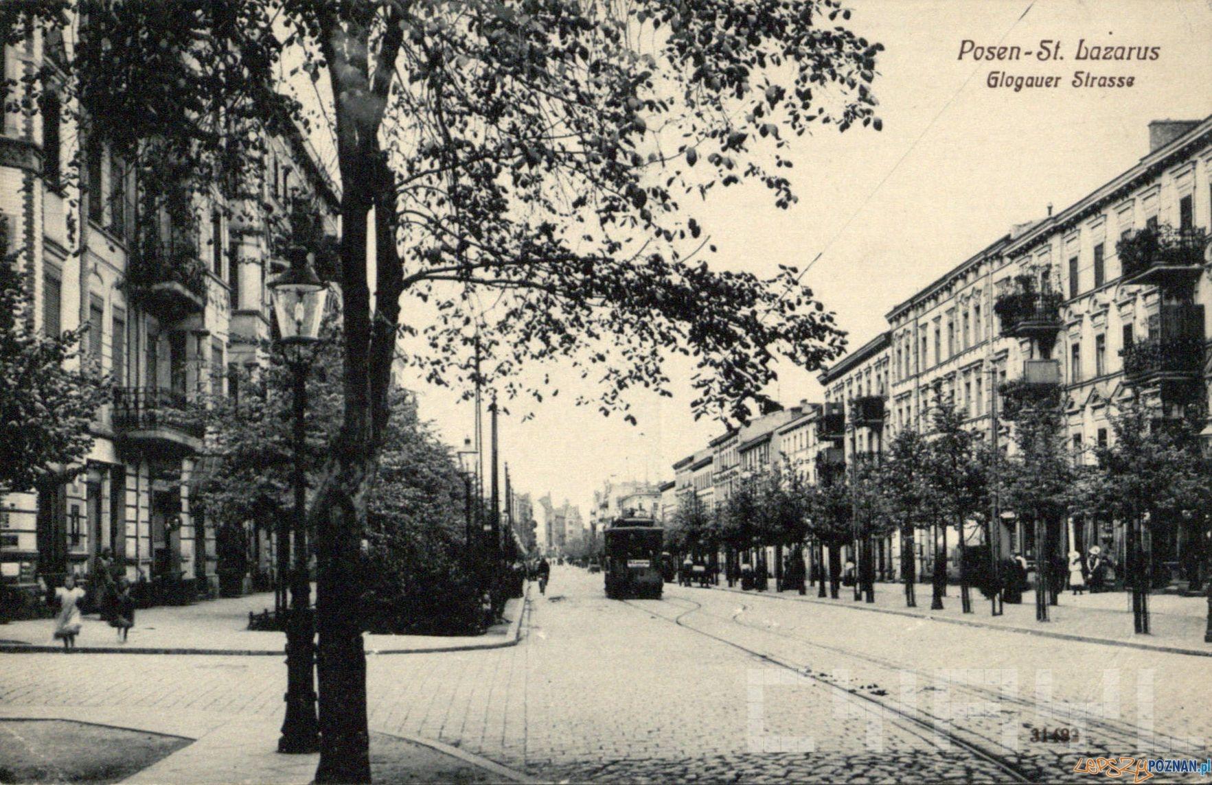 Głogowska 1906-11  Foto: Cyryl / kolekcja Romana Trojanowicza