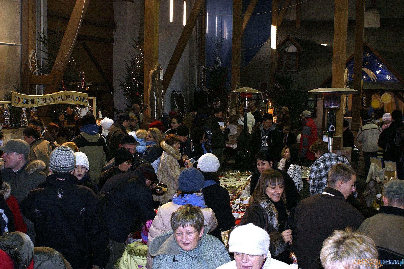 Jarmark Bożonarodzeniowy w Szreniawie  Foto: materiały prasowe Muzeum w Szreniawie