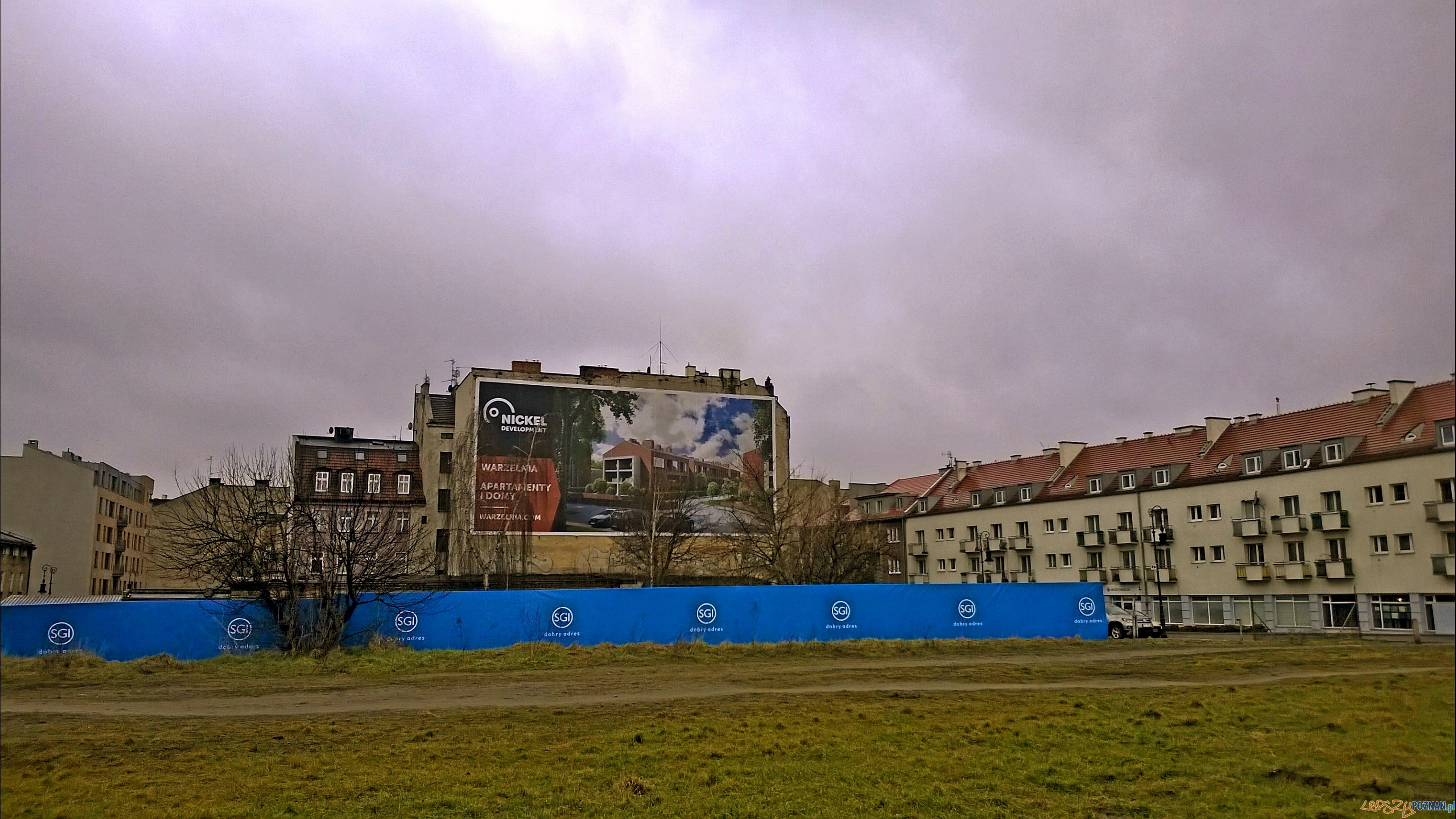 Tu ma powstać blok na Chwaliszewie  Foto: Rada Osiedla Stare Miasto