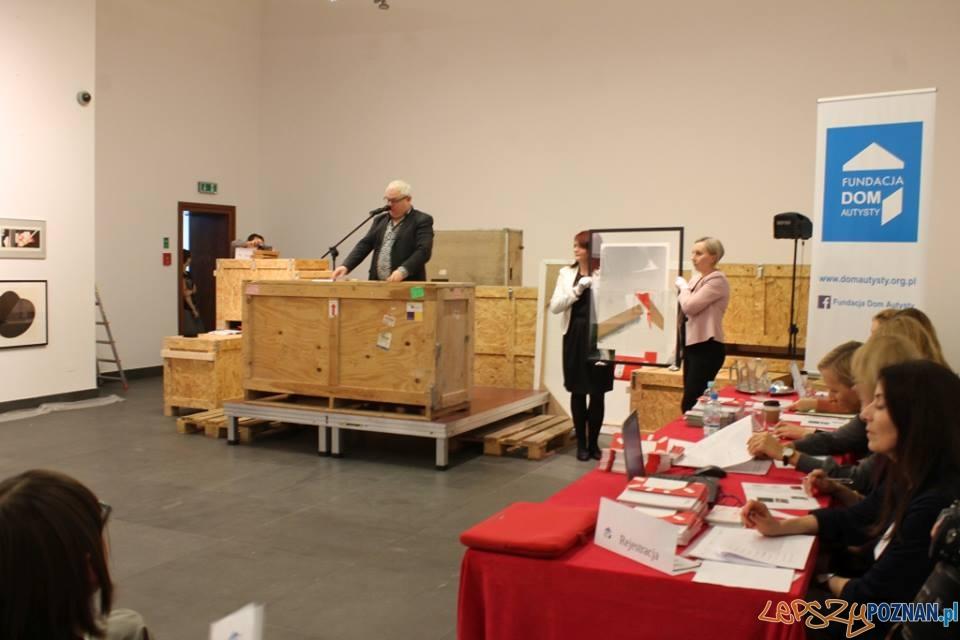 Charytatywne aukcja dzieł sztuki w CK Zamek  Foto: Fundacja Dom Autysty / facebook