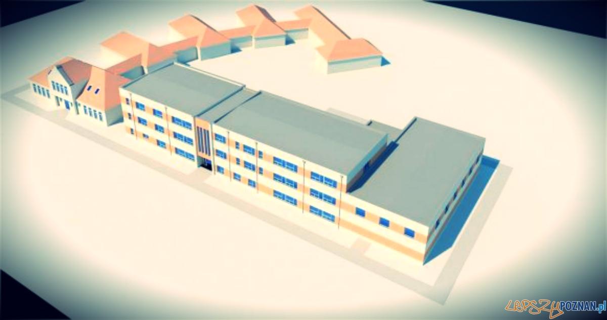 Dwa projekty rozbudowy szkoły  Foto: