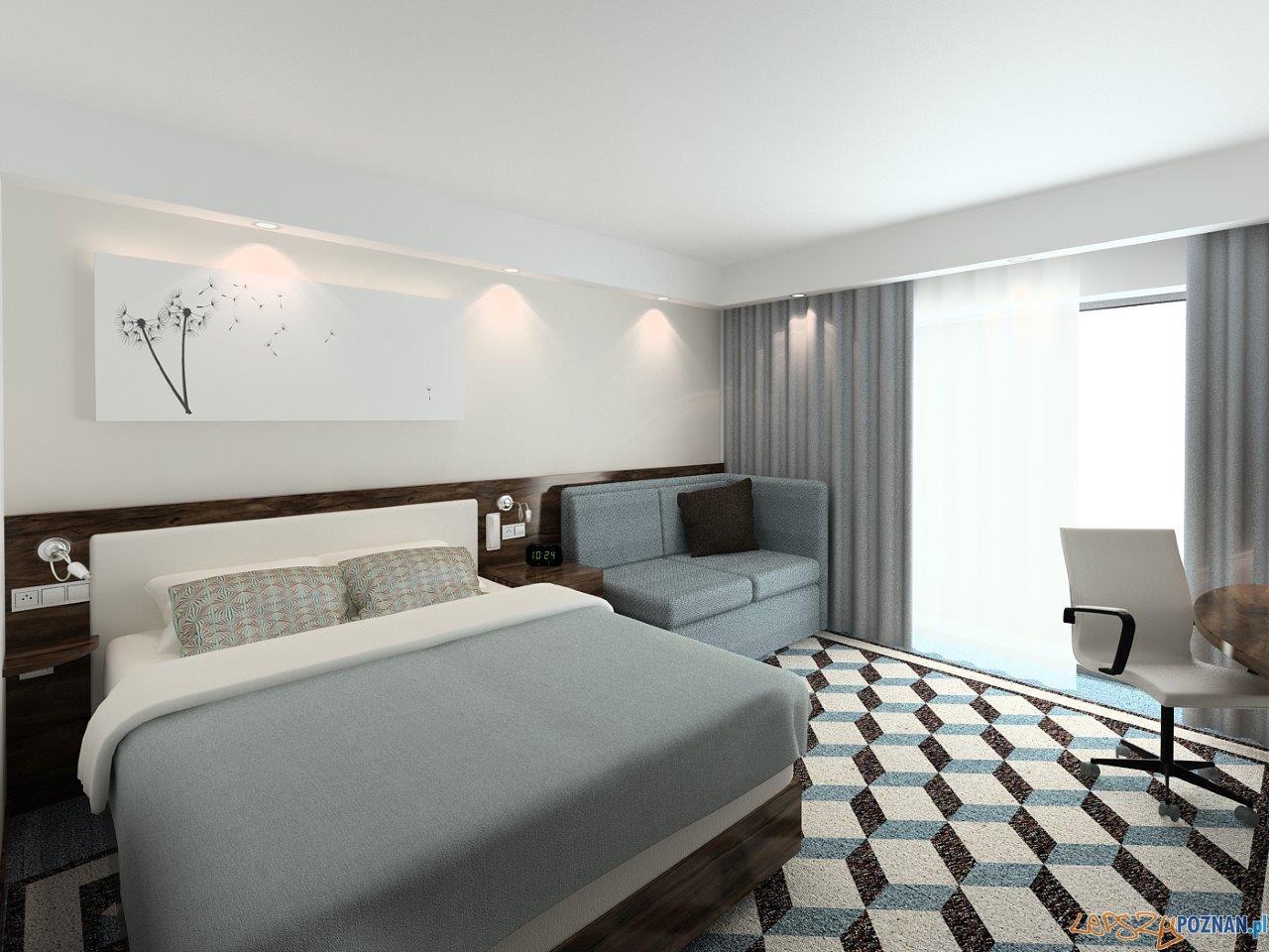 Hotel Hampton by Hilton w Poznaniu - wizualizacje  Foto: mat. prasowe